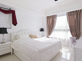 给卧室加分 17款白色床头软包设计
