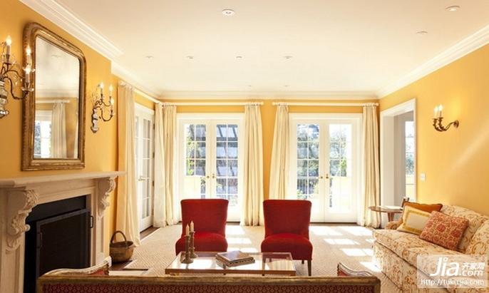 欧式乡村别墅图片大全,别墅客厅装修效果图装修图片
