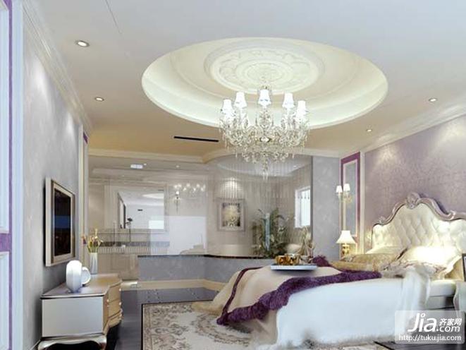 东湖湾现代简约二居室装修效果图高清图片