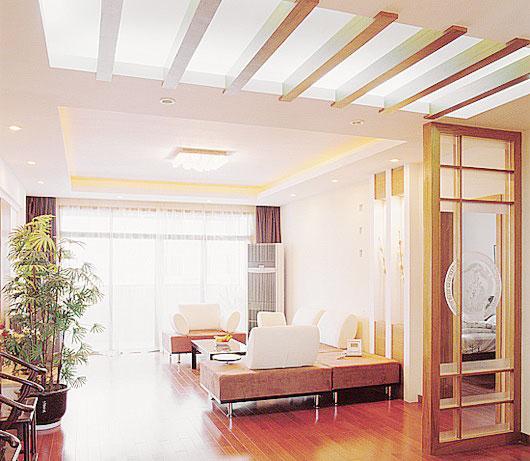 中式风格客厅过道设计图
