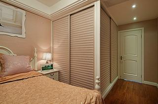 现代简约风格浪漫20万以上80平米卧室衣柜衣柜图片