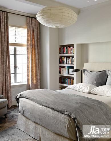 中信城现代简约二居室装修效果图高清图片