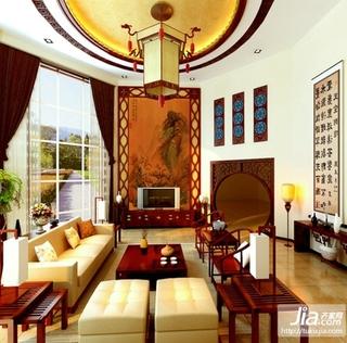 独墅一致中式风格别墅装修效果图
