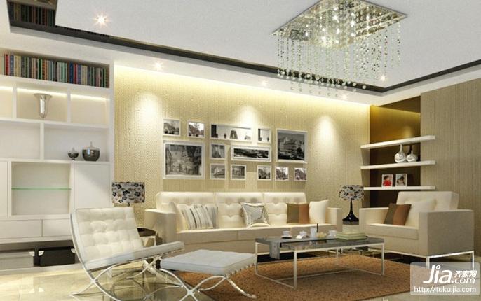 现代风格客厅吊顶装修效果图大全2012图片装修效果图