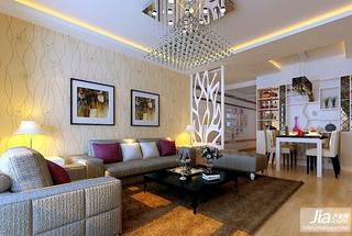 简单的直线,黑白灰的色彩打造出温馨舒适的2012年最新婚房设计装修效果图