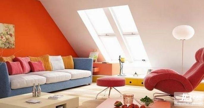 色彩:家居装修的主旋律装修效果图