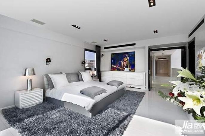 时尚精装复式客厅装修效果图图片