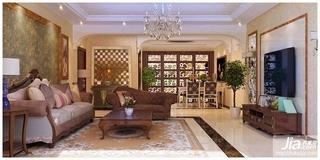 欧美流行城堡中的客厅装修效果图