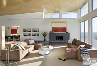 2012室内装修效果图,最新简约现代客厅装修风格装修图片