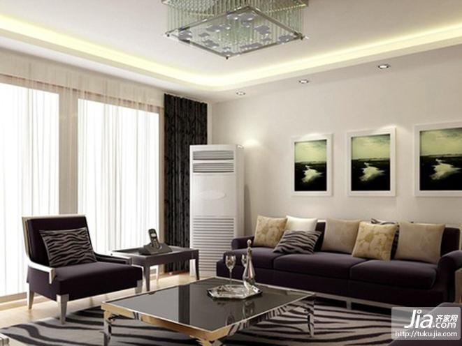长方形客厅装修图片