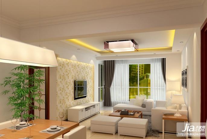 北京华贸城西式古典四居室装修图片