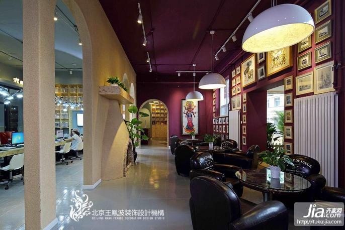 王凤波设计机构王凤波设计机构办公环境环境装修效果图
