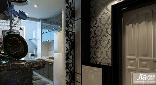 后现代黑白灰的低调奢华装修效果图