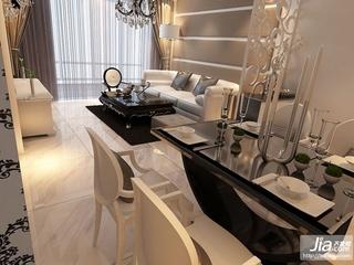 金地·铂悦二居室92平米A户型装修效果图