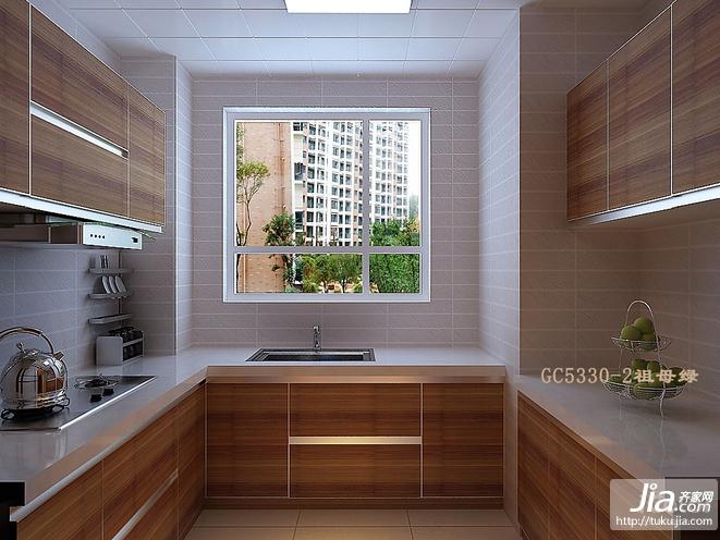 温馨时尚的小户型厨房装修装修效果图