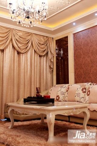 80㎡小户型婚房装修 现代风格客厅效果图欣赏装修图片