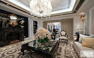 花样洋房 大气欧式客厅装修图片