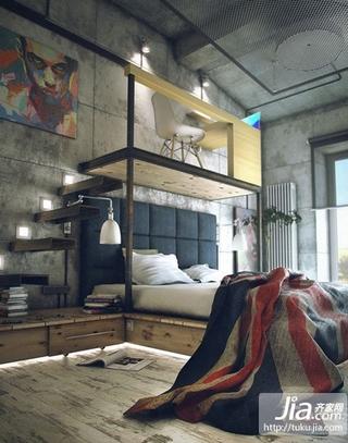 现代灰色调复式楼装修效果图大全2012装修效果图