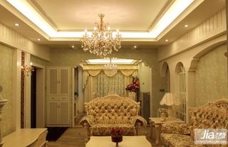 新中式_三室两厅简装效果图装修图片