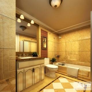 翡翠园小区东南亚风格室内装修设计效果图装修图片