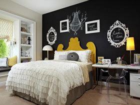 提高睡眠质量 16款卧室手绘墙设计