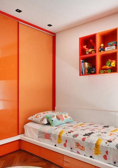 美式风格时尚儿童床效果图