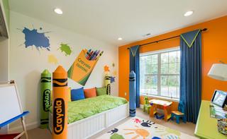 美式风格实用儿童床图片