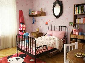 古典复古美 15款铁架儿童床设计