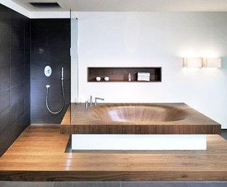 舒适卫生间浴缸效果图