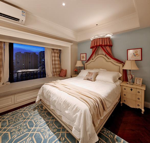 欧式风格舒适床头软包装潢