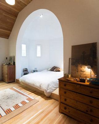 简约风格舒适卧室地板图片