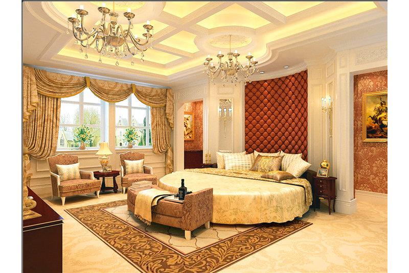 豪华型装修140平米以上欧式别墅装修效果图