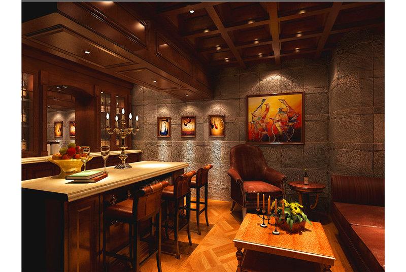 别墅经典 极致奢华装修效果图,室内设计效果图 齐家装修网高清图片