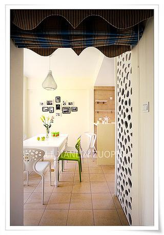 简约风格三居室小清新130平米餐厅装潢