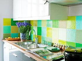 马赛克瓷砖效果图 打造与众不同的厨房
