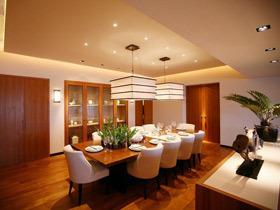 98平现代新中式三居装修 温馨有爱的家
