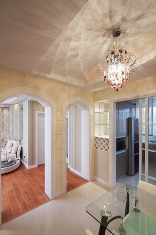 欧式风格奢华130平米婚房家装图