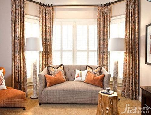 客厅窗帘如何选 小细节塑造美感