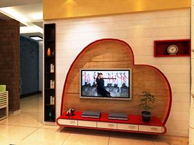 20款电视背景墙图片 出人意料的创意设计