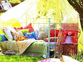 卧室安在花园 14款花园休息区图片