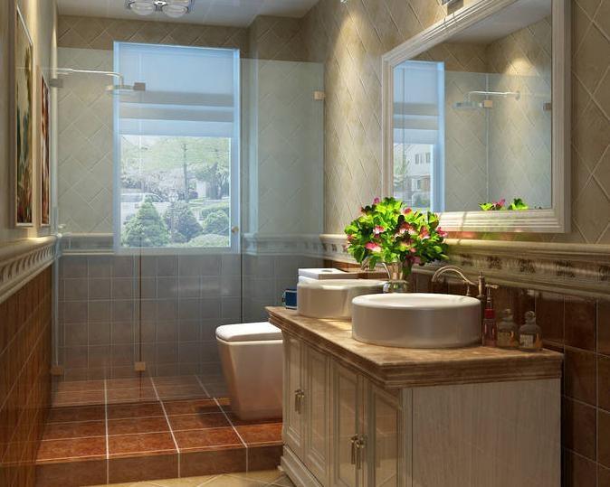 19张圆形洗手台设计图 安全美观