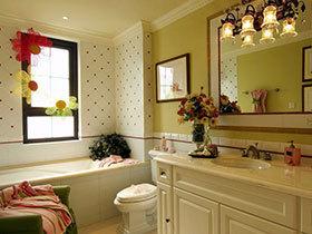 浪漫田园风 16张彩色洗手台设计图