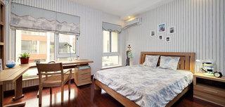 中式风格别墅奢华卧室效果图