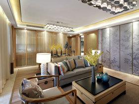 宜家新中式公寓装修 精美的设计让人羡慕