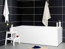 时尚大气简约风 长方形浴缸效果图