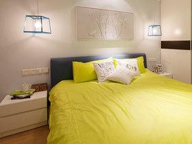 卧室收纳智慧 16款白色床头柜效果图