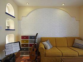 打造大气客厅 15张豪华沙发背景墙设计图