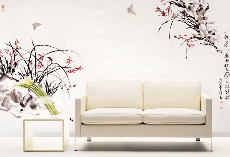18款素雅壁纸图片 给中式家添气质12/18图片