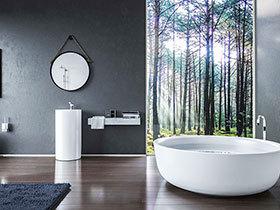 18款奢华浴缸设计 享受舒适洗澡时光