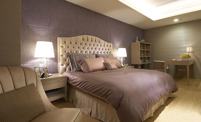 欧式风格实用床头软包装修效果图图片